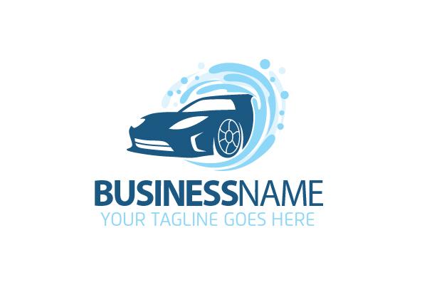 Carwash Business Logo  Carwash Busines...